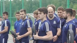 Иван Скобрев – о тренировке бело-голубых в «городке»