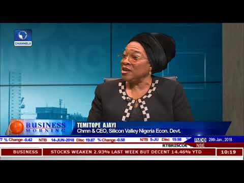 ICT Start Ups & Future Of Nigeria Economy With Silicon Valley Handshake Pt.1 |Business Morning|
