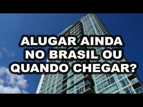 Como alugar apartamento no Canadá estando ainda no Brasil?