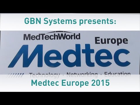 GBN Systems Videonews - Impressions of the 2015 Medtech Europe Expo in Stuttgart - Germany