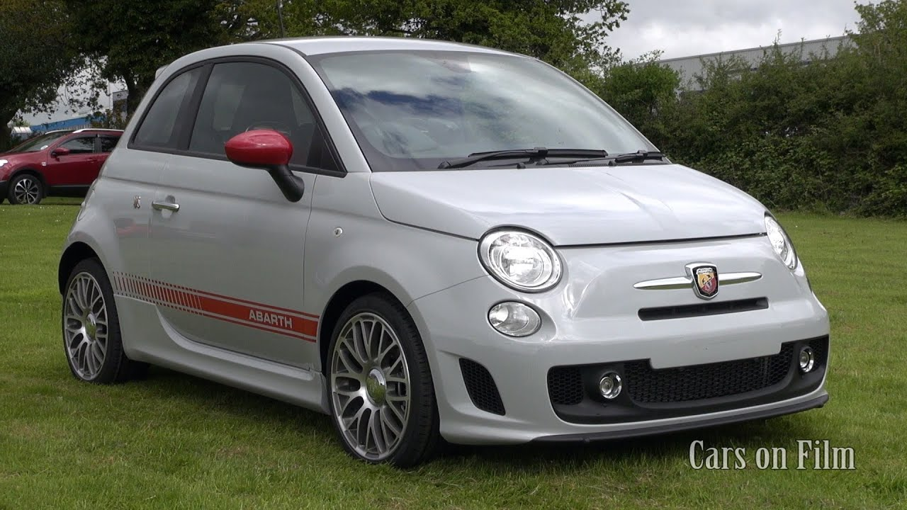 2013 Abarth 500 in Campovolo Grey with Red Leather - YouTube