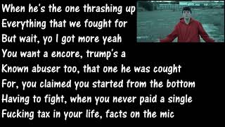 16 Year Old Raps About Donald Trump ( Lyrics ) TheRealRedWolf