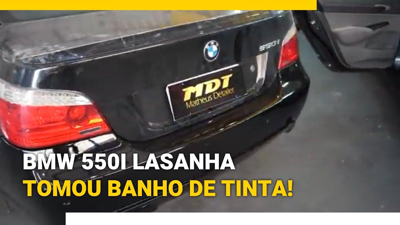 Download BMW 550i LASANHA TOMOU BANHO DE TINTA