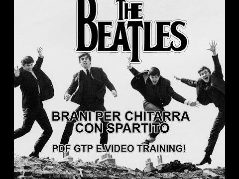 Yesterday dei Beatles arrangiamento per chitarra sola Tab + spartito