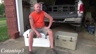 RTIC cooler or a YETI cooler??? Unboxing a new 65 RTIC cooler