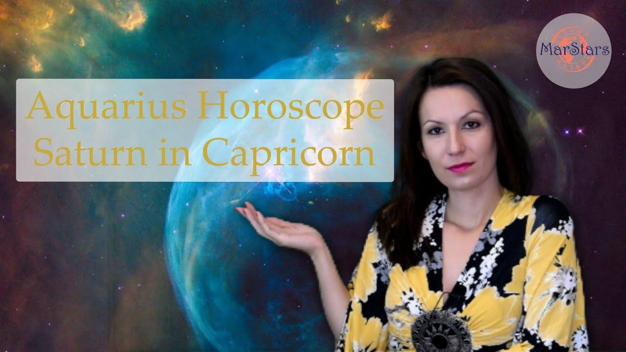 Aquarius Horoscope | Saturn in Capricorn | 2018/2020 prediction