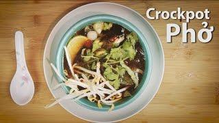 Easy Crockpot Pho Soup Recipe