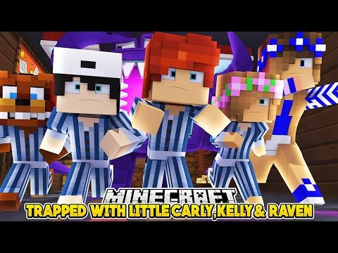 ATTACKED IN BABY DAYCARE!! | w/LittleKelly Carly & Raven | FNAF | Custom Minecraft Roleplay