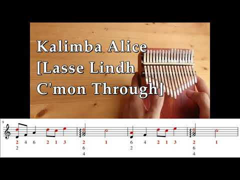 Kalimba Cover [Lasse Lindh C'mon Through] Soulmate OST