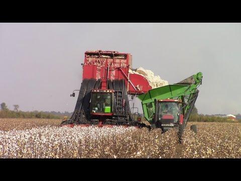 Case IH CPX620 Cotton Picker