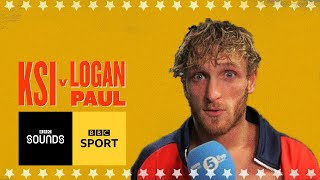 'I don't feel I lost' Logan Paul emotional locker room interview | BBC Sport Video