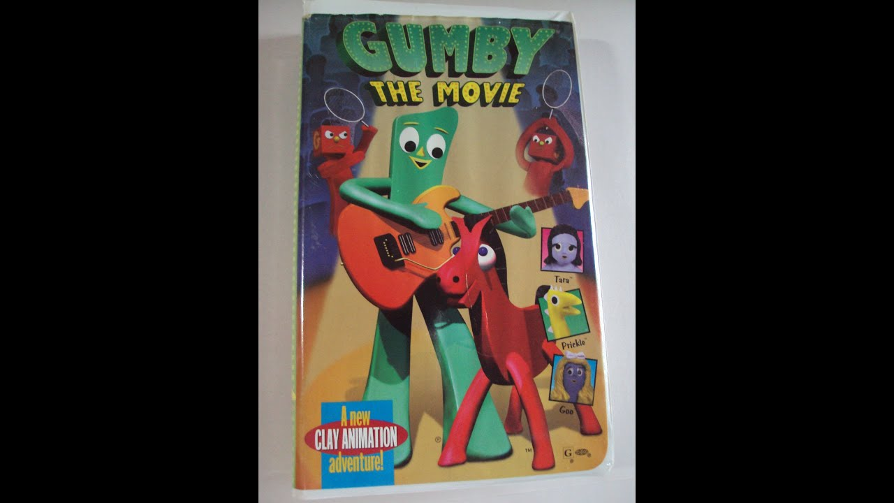 The Vcr From Heck Fifty Cartoons Week Tuesday 50: Opening To Gumby:The Movie 1995 VHS