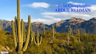 AbdulRehman   Nature & Naturaleza - Happy Birthday