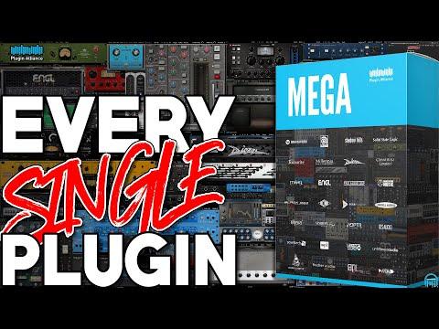Plugin Alliance MEGA Bundle - EVERY. SINGLE. PLUGIN. (2020)