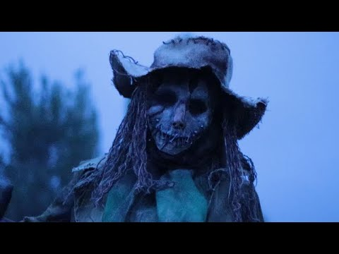 Halloween Пугало ужастик короткометражка жесть труп