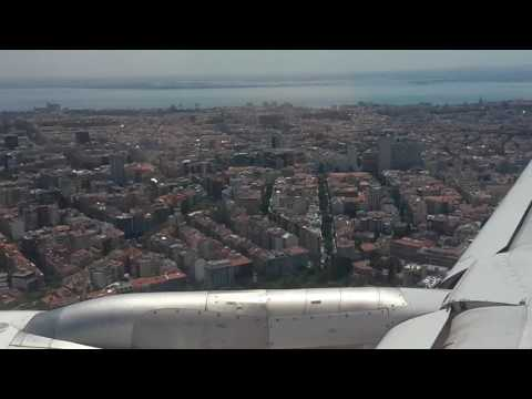 Final Approach and Land in beautiful Lisbon