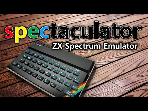 [TUTORIAL] Spectaculator - ZX Spectrum Emulator