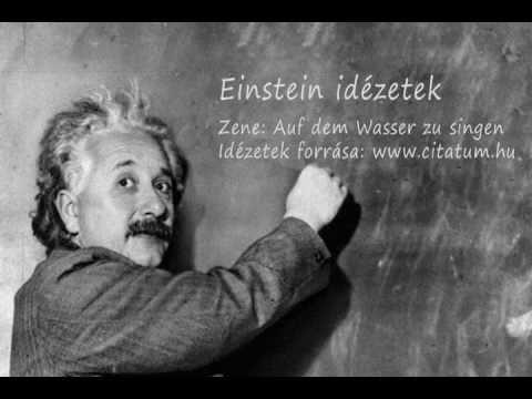 idézetek albert einstein Einstein idézetek   YouTube