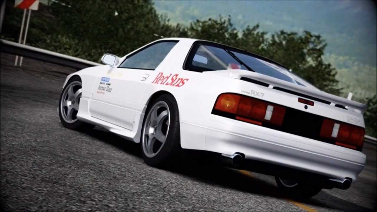 Forza 4 Initial D Series Episode 8 Rx 7 Fc Youtube