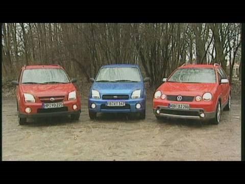 VW Polo Fun Vs. Subaru Justy Vs. Suzuki Ignis: Vergleich Der Gelände-Kleinwagen