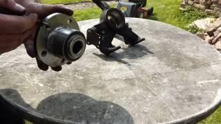 Comment remplacer un roulement avant gen 2 pour VW Skoda Seat sans outillage spécifique