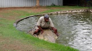 The Crocodile Man of Port Moresby