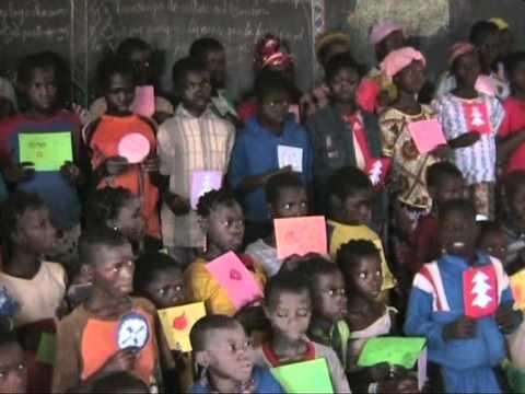A l'école de Woro Burkina Faso