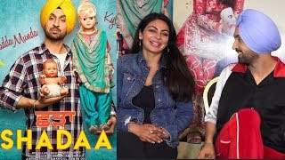 Diljit dosanjh and Neeru bajwa Interview For There upcoming movie SHADAA