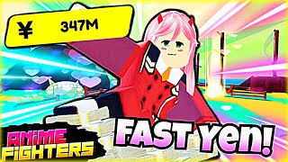 The FASTEST Way To Get Yen In Anime Fighters!