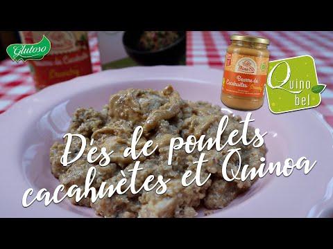 dés-de-poulets-au-beurre-de-cacahuÈtes-avec-quinoa-|-recette-saine-et-protéinée