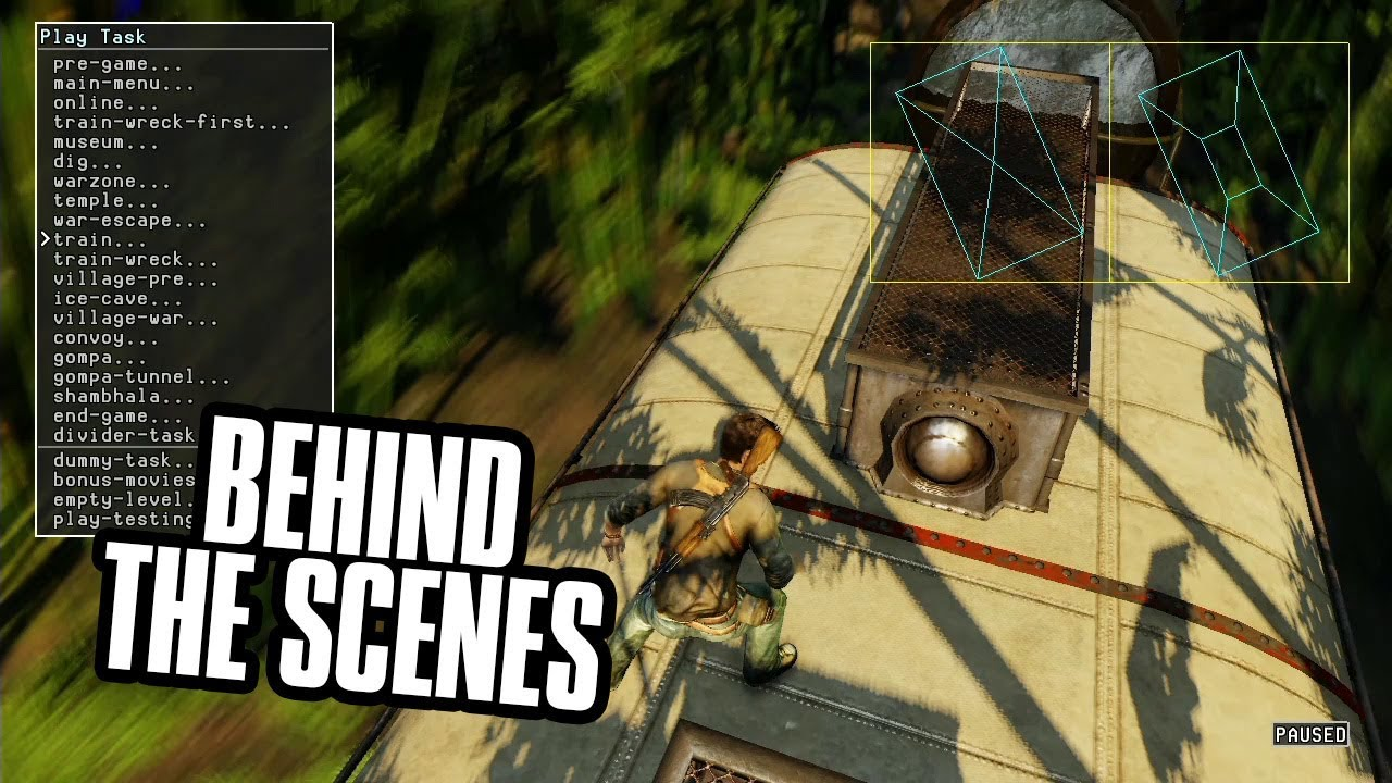 The Secrets Of Uncharted 2 S Superb Train Level Revealed