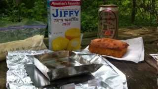 Backcountry Cornbread On A Firefly Wood Stove