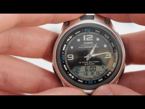 Casio Fishing Gear AW-82D-1A [AW-82D-1AVEF] - Инструкция по настройке от PresidentWatches.Ru