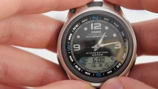 casio fishing gear aw 82d 1a aw 82d 1avef инструкция по настройке от presidentwatches ru