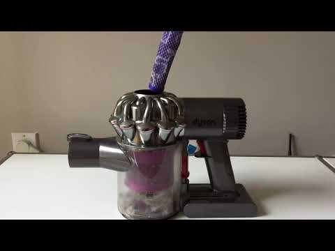 How to clean the filter of a Dyson V6, V7, or DC59 cordless vacuum