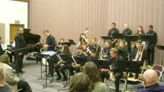 """Just Friends"" - Garfield Jazz Band II at Lionel Hampton 2014"