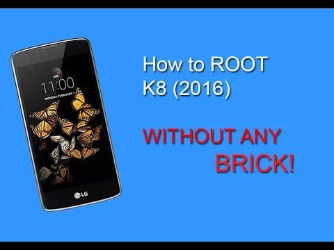 Root LG k8 twrp no brick