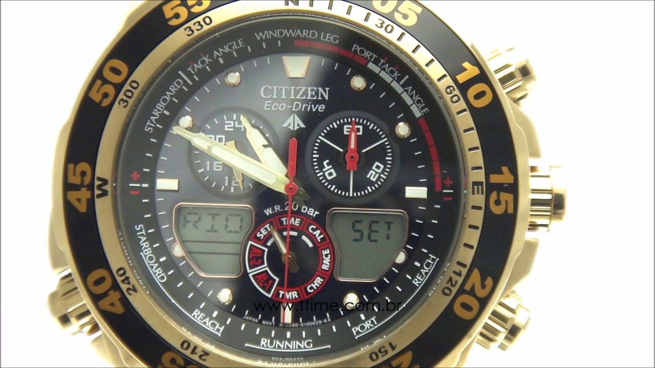 4681d77632e RELÓGIO CITIZEN ECO DRIVE TZ10002P - JR4046-03E - YouTube