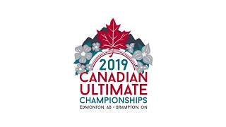 2019 Canadian Ultimate Championship - Adult | Women QF - Stella vs S.H. Hippos | Aug. 17