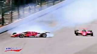 360-degree spin of Danny Sullivan 1985 INDY 500