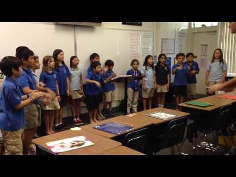 4th Grade Music Class