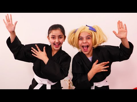 Kiddyzuzaa   Ninja Princesses!   Princesses In Real Life   WildBrain Cartoons