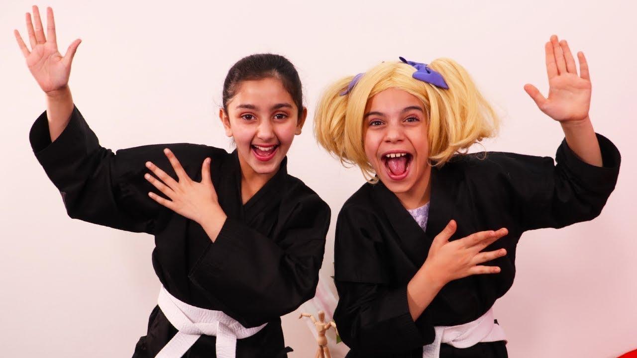 Kiddyzuzaa | Ninja Princesses! | Princesses In Real Life | WildBrain Cartoons