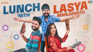 LUNCH With LASYA MANJUNATH  || Kaasko || Nikhil Vijayendra || Tamada Media