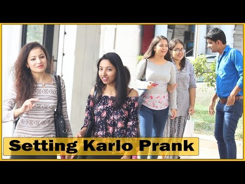 Setting Karlo Prank On Girls - Comment Trolling #13   Prank In India   The HunGama Films
