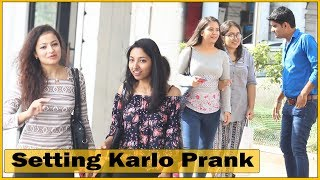 Setting Karlo Prank On Girls - Comment Trolling...