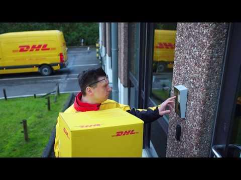 La Journée D'un Coursier DHL Express