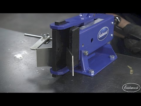 How To Make Precise Bends with the Eastwood Metal Bender - Eastwood