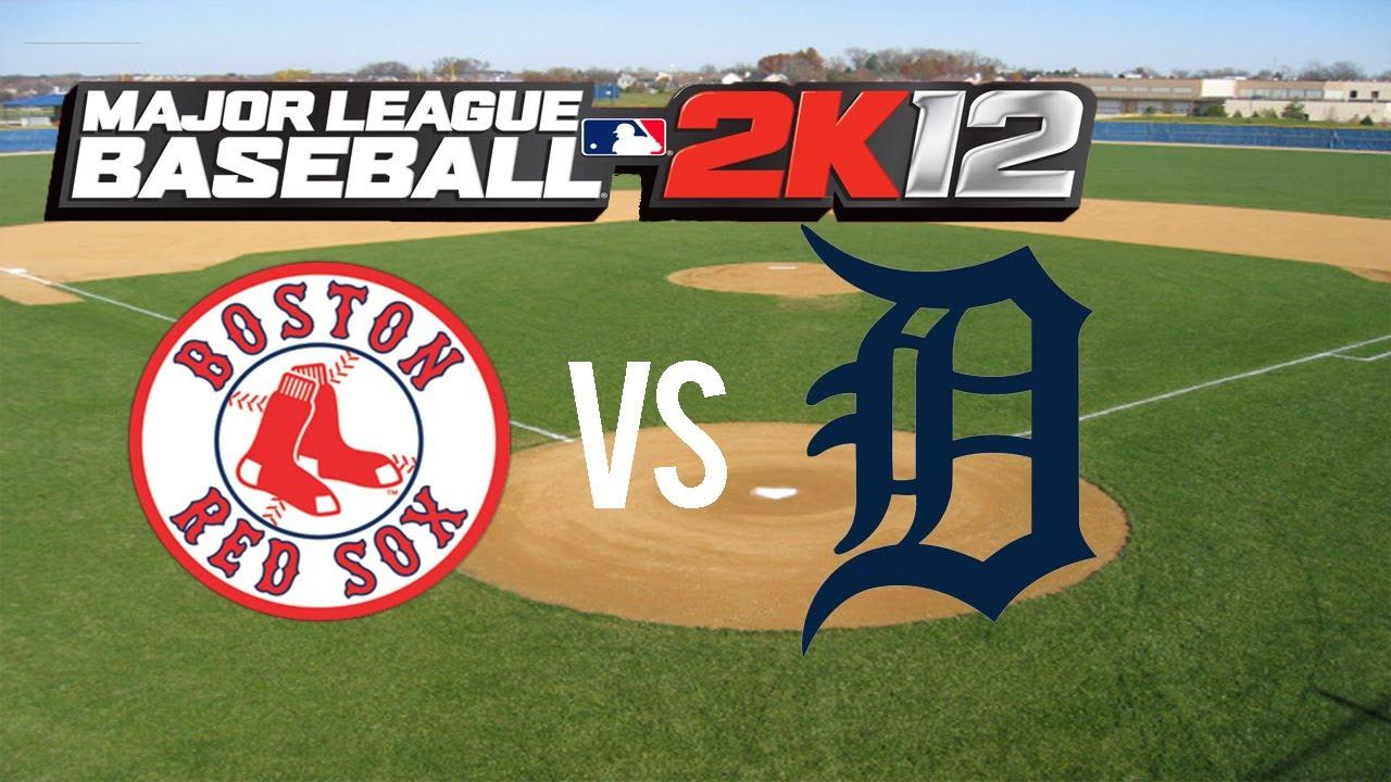 Major League Baseball K Red Sox Vs Tigers