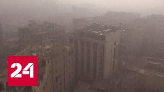 Террористы перебрасывают к Алеппо свежие подразделения